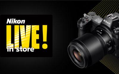 Nikon LIVE! in store