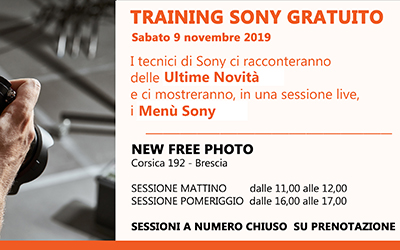 Training Sony Gratuito